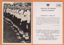 West Germany Team v Ireland A102 (B)